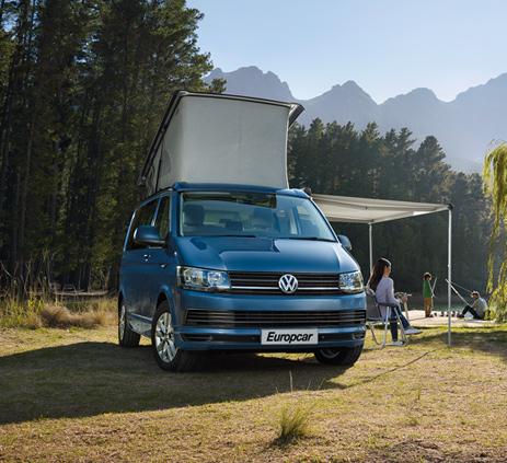 Europcar   Camper VW T6 California Beach & Coast for hire