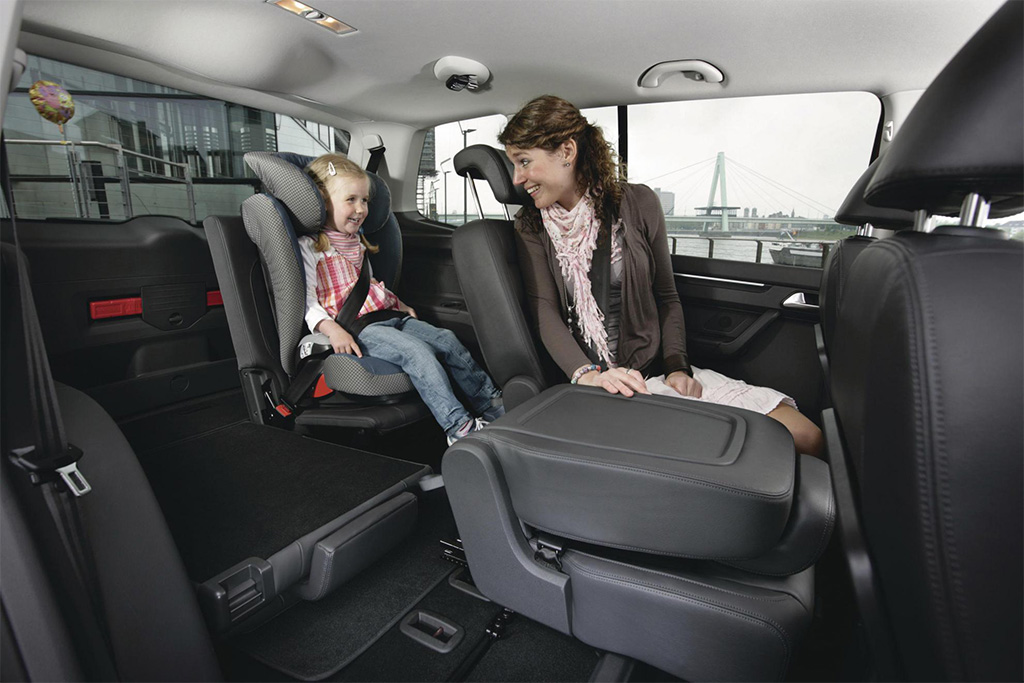 VW Touran Interieur