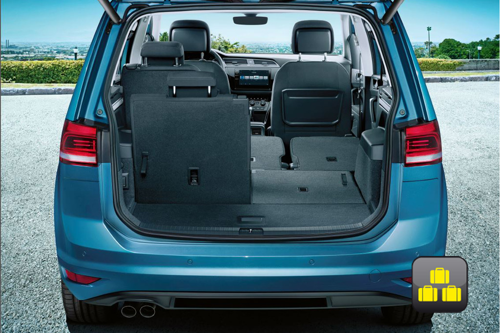 VW Touran with third row of seats
