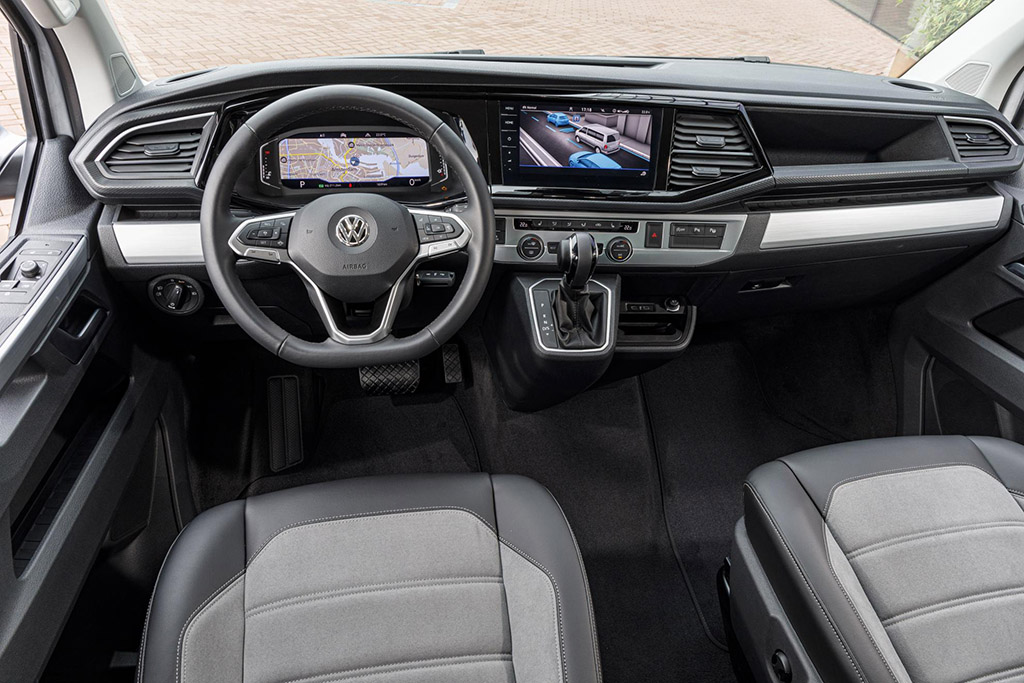VW T6 Multivan Digital cockpit