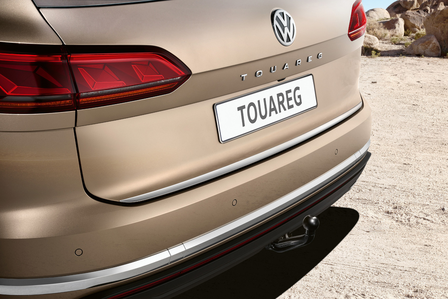 VW Touareg Trailer hitch